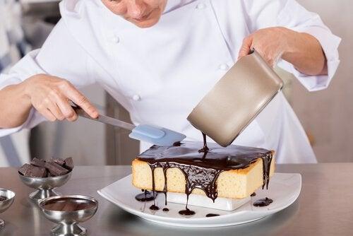 Choco-volcan, un délicieux gâteau au chocolat