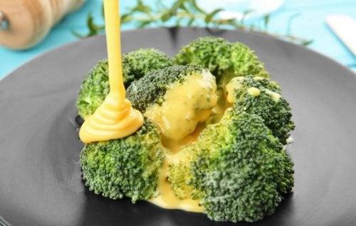 délicieuses recettes au brocoli : gratin de fromage