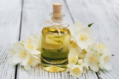 des huiles essentielles
