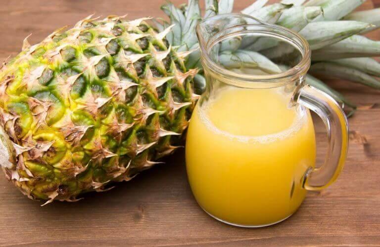 L'ananas est un fruit diurétique.