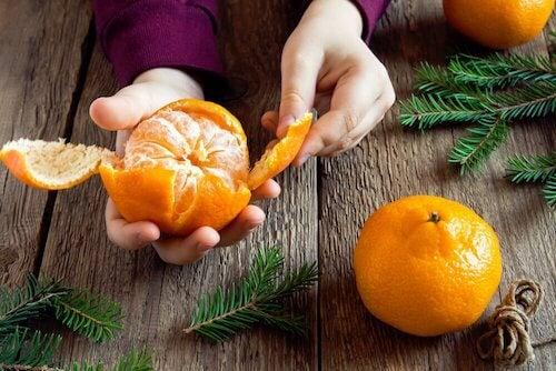 recette de salade de poulet et de mandarine