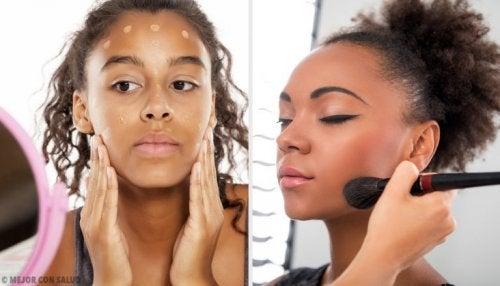 maquillage à porter pendant la journée sur les sourcils