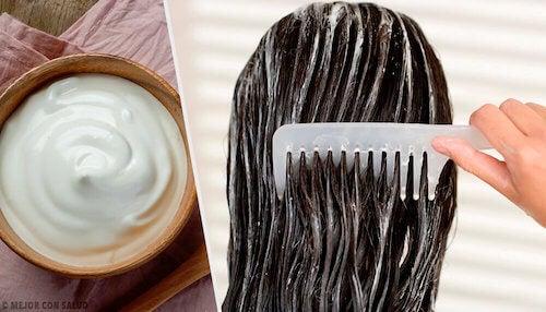 masque à la mayonnaise pour les cheveux