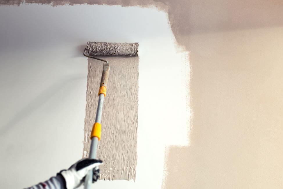 3 techniques pour peindre les murs de votre maison am liore ta sant. Black Bedroom Furniture Sets. Home Design Ideas