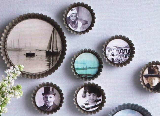 11 idées de décorations avec des photos de famille
