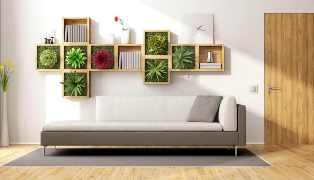 idées déco à réaliser avec des plantes