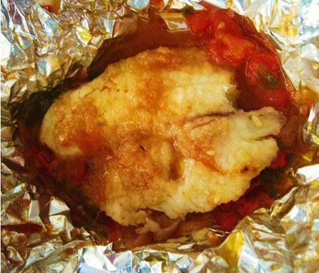 recette facile de poisson cuit au four dans son jus