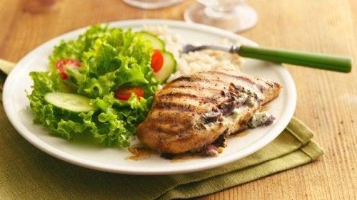 Conseils pour la poitrine de poulet aux légumes