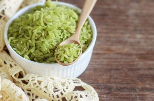 Délicieuse recette de riz vert