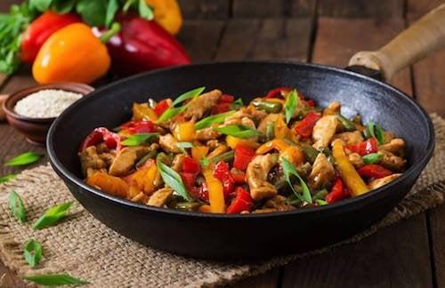 Préparez un délicieux poulet aux légumes