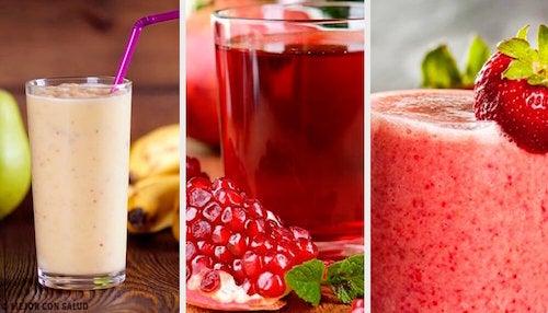 5 smoothies hypocaloriques