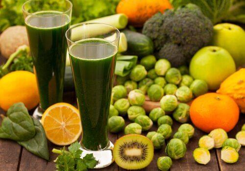 3 régimes dépuratifs et faibles en gras