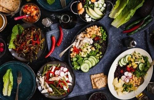 Accélérer le métabolisme avec un régime peu gras.