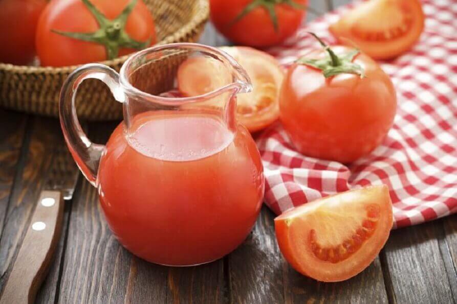 Régimes dépuratifs à la tomate.