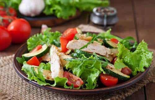 Délicieuse recette de salade de poulet