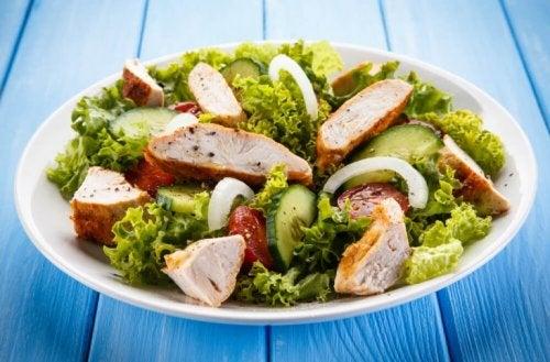 Une salade pour accélérer le métabolisme.