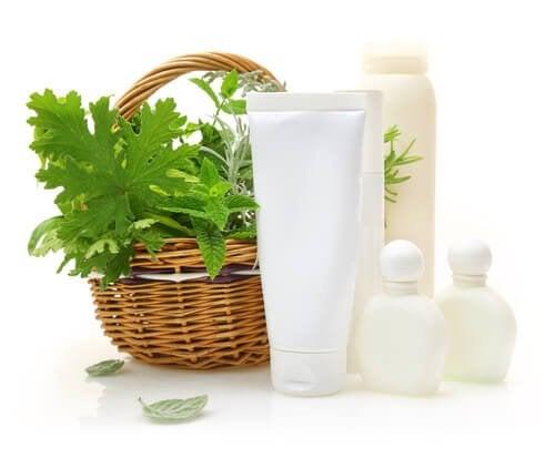 shampoings naturels faits maison à base de feuilles de framboise