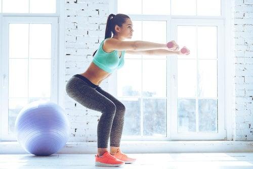 les squats pour façonner votre silhouette