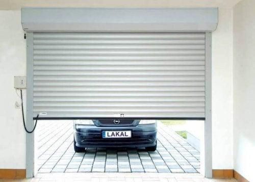 Les portes de garage à enroulement