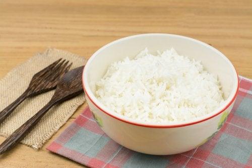 Consommer du riz sainement.