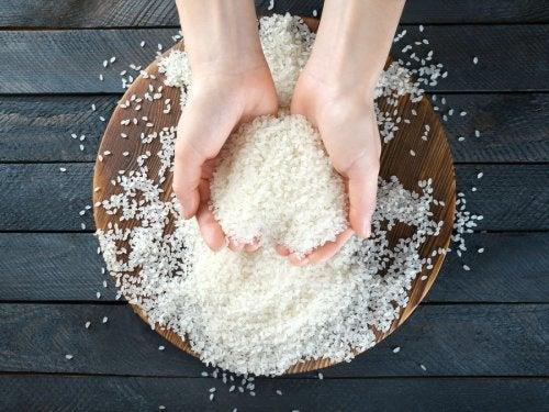 Consommer du riz avec des antioxydant.