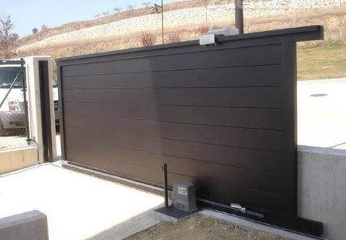 Portes de garage coulissantes