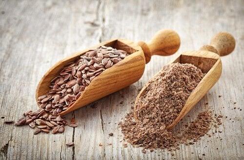 les graines de lin sont un aliment riche en fibres