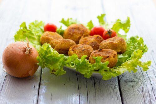 Recettes d'entrées : croquettes d'aubergine