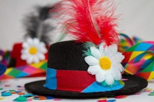 chapeaux de fête en caoutchouc mousse