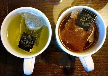 Le thé vert améliore la circulation sanguine.