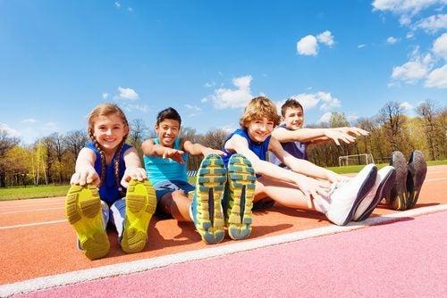 donner le le goût du sport aux enfants