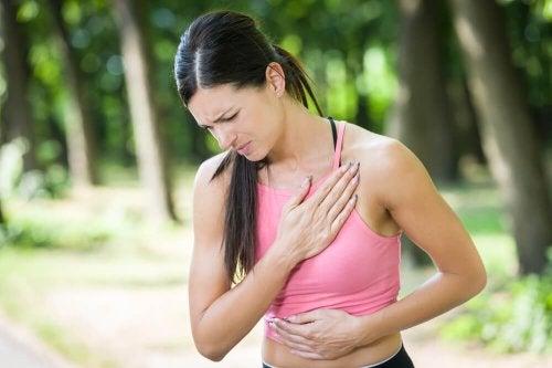 Douleur à la poitrine