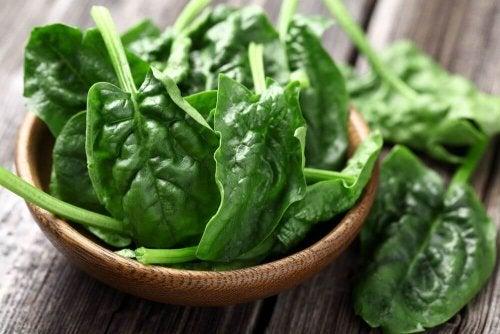 Les épinards représentent une source de protéines d origine végétale