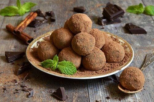 les bienfaits pour la santé des truffes au chocolat