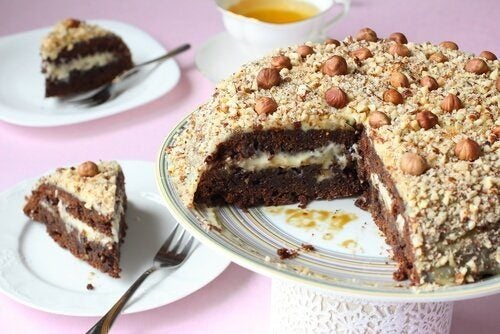gâteau aux truffes au chocolat