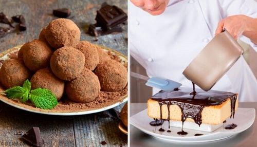 Recette facile pour la préparation d'un gâteau à la truffe au chocolat