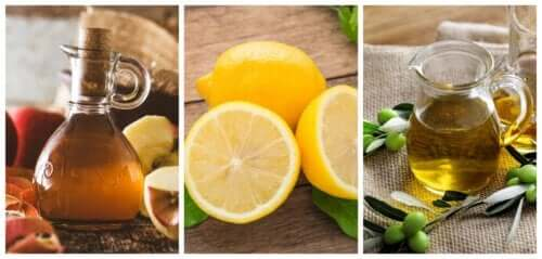 Remède idéal pour éliminer les calculs rénaux : citron, huile d'olive et vinaigre de cidre
