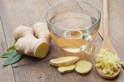 le gingembre pour traiter les inflammations
