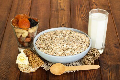oat diet with milk
