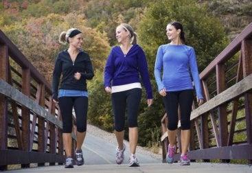 marcher pour éviter le pré-infarctus