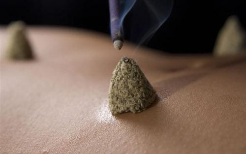 indications de la moxibustion.