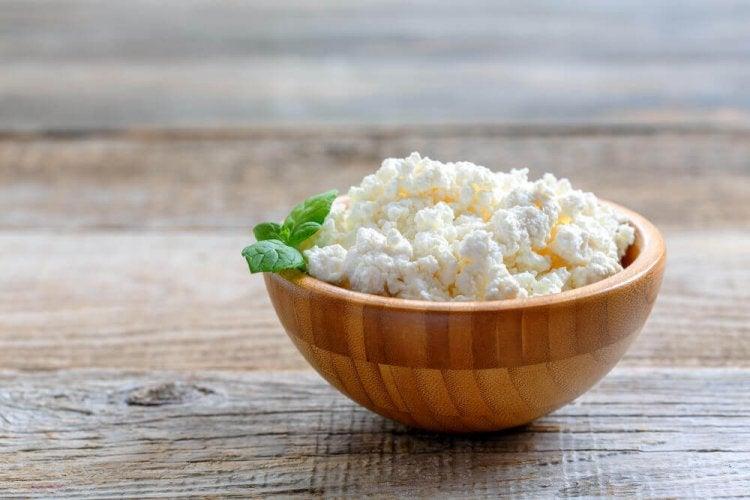 Le fromage cottage permet d'augmenter la masse musculaire.