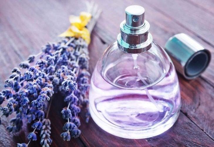 décorer votre maison avec des vieux flacons de parfum
