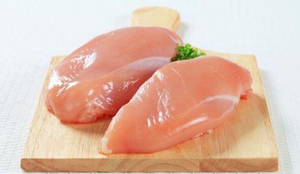 poulet cuit au four