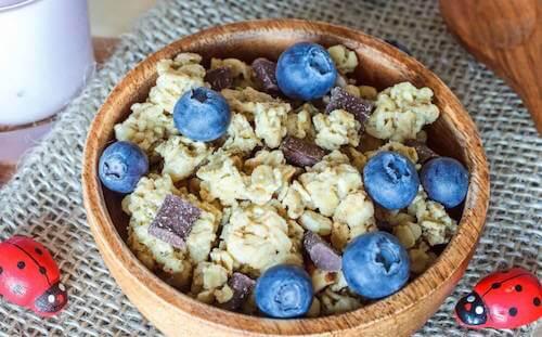 Découvrez des recettes à base de granola