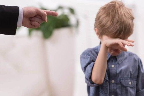 Réflexion sur les punitions données par les parents