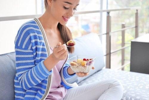 Perdre du poids efficacement avec le régime d'avoine