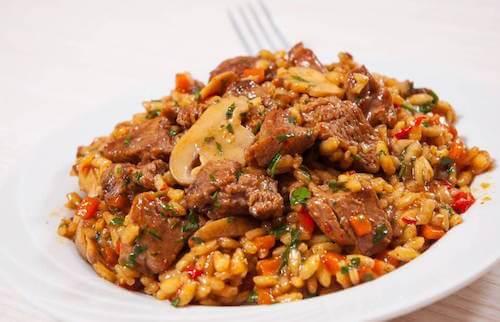 Recette de riz chinois au poulet et au miel