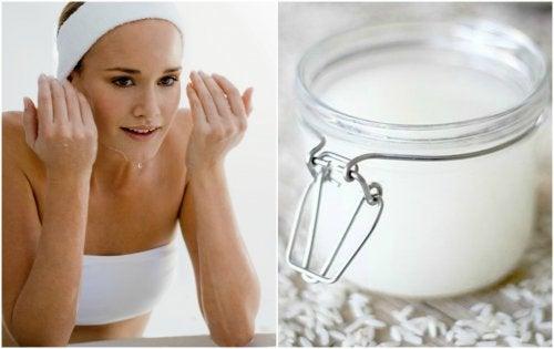 2 façons d'utiliser le riz pour nettoyer votre visage