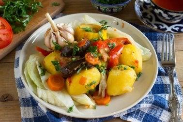 dîners pour perdre du poids pommes de terre